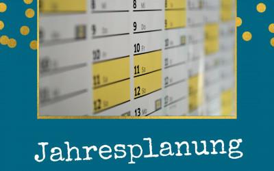 Deine Jahresplanung